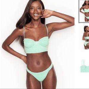 Perforated Balconet bikini top
